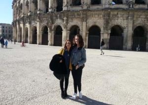 Exchange students in Nîmes