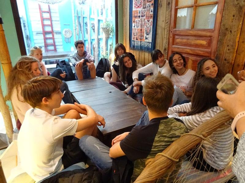 International student excursion in Marseille