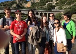 International student group in Occitanie