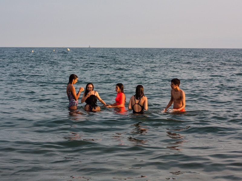 international students on the see